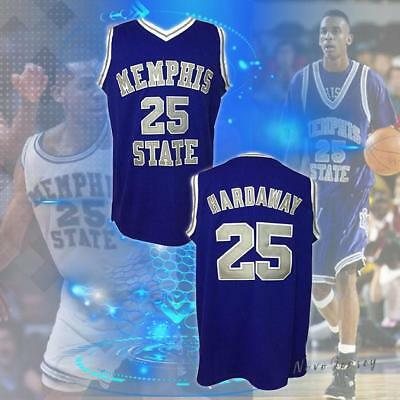 Penny Anfernee Hardaway #25 Memphis State College Jersey