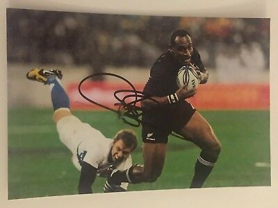 Joe Rokocoko- New Zealand Rugby Player Signed 6x4 Photo