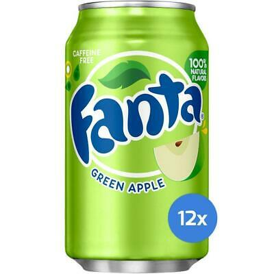 Fanta Green Apple 12 x 355 ml