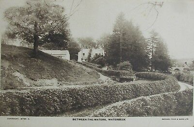Between-The-Waters Waterbeck Dumfries 1937 Rp Pc