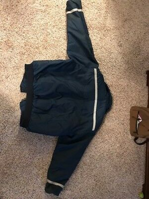 Stearns Floatation Jacket Adult Large Navy Blue USCG Type 3 PFD Model 1077