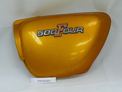Honda cover L side fits CB500F 1971 - Gold