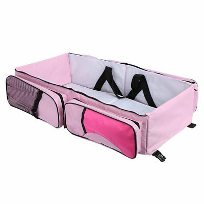 Baby Travel Bed and Bag Baby Diaper Bag Portable Baby Diaper Change Station -AA4