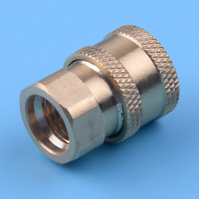 """Pressure Washer 1/4"""" Female NPT Brass Connect Socket Coupler Watering"""