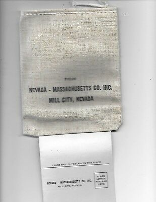 Assay Sample Bag Mill City Nevada Ghost Town