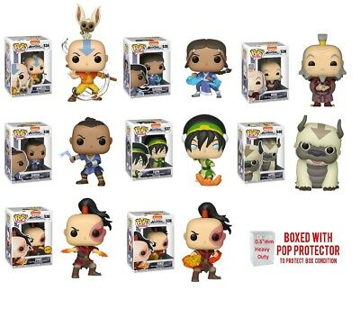 Funko Pop Movies : AVATAR : The Last AirBender Individual or Set  w/Case