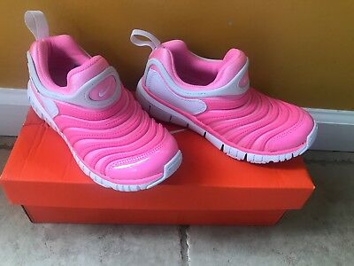 b742c3331631 New Nike Dynamo Free PS Pink Color Preschool Kids Shoes Sneakers Size 13.5C