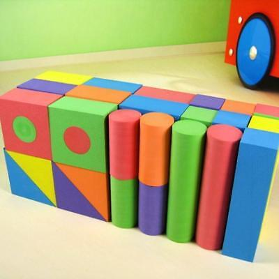 Geometric Shape Eva Soft Toy Safe Foam Building Blocks Educational Toy -LIN