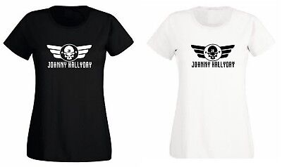 Johnny Hallyday T Shirt Femme Image Recto Et Verso Fan Hommage