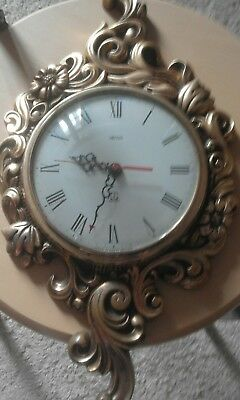 Reduced !! Roccoco Style Smiths Wall Clock