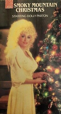 SMOKY MOUNTAIN CHRISTMAS Dolly Parton(VHS 1991)TESTED-RARE VINTAGE-SHIPS N 24 HR