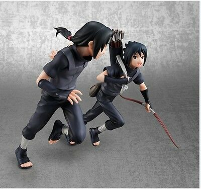 2pcs/set 18cm Naruto Uchiha Sasuke itachi action figure PVC toys ollection doll