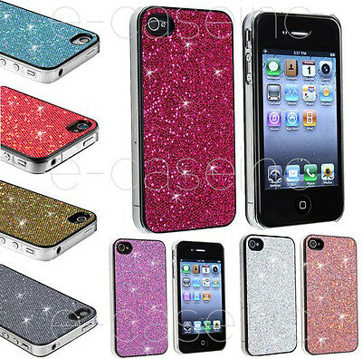 Coque, Housse Rigide Apple iPhone 4 & 4S - Case Glitter Strass Paillettes Bling