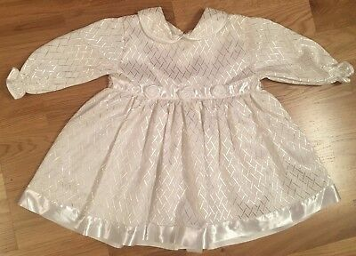 🎀 BNWOT Boutique Baby Girl Christening Dres: 6-9 Months *Can Combine Postage*🎀