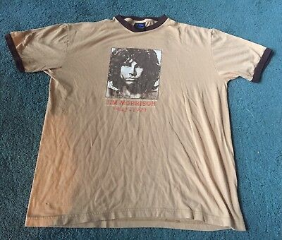 Vintage Jim Morrison Ringer T Shirt Large The Doors