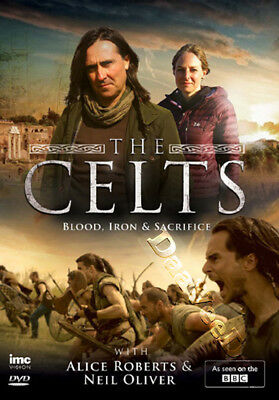The Celts: Blood, Iron & Sacrifice NEW PAL Series Cult 2-DVD Set Alice Roberts
