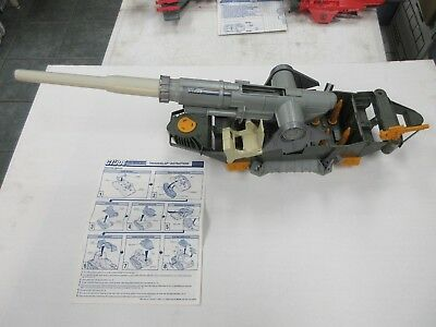 1980's GI JOE ARAH THUNDERCLAP FOR PARTS VEHICLE W/ BLUEPRINTS