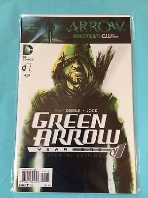 Green Arrow #1 Year One Special Edition 2014
