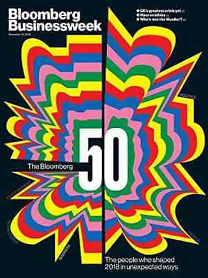 Bloomberg Businessweek PRINT Magazine 1 YEAR NEW/RENEWAL Subscription -50 Issues