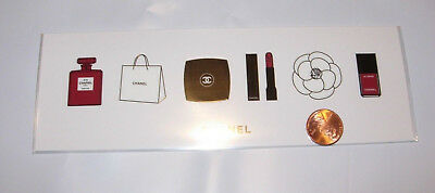Chanel vip gift stickers makeup le 2018 rare