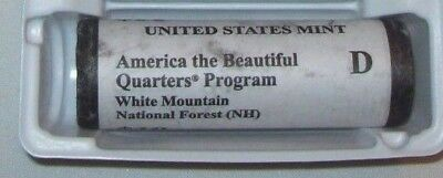 2013 D WHITE MOUNTAIN  National Park Quarters Special Mint Wrapped Roll