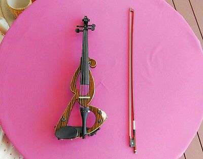 Violin Electric in soft padded case inc bow