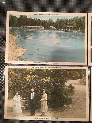 Arkansas Hot Springs Park Postcard Old Vintage Card View Postcards