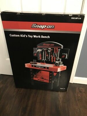 Astounding Snap On Tools Custom Kids Toy Work Bench Rare Collectable Uwap Interior Chair Design Uwaporg