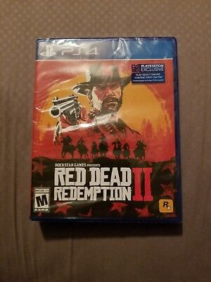 Red Dead Redemption 2 (PS4) NEW. Standard Edition PS4