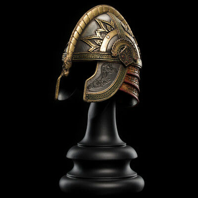 WETA Lord of the Rings Helm of Prince Theodred 1:4 Helm Helmet NEW DOUBLEBOX