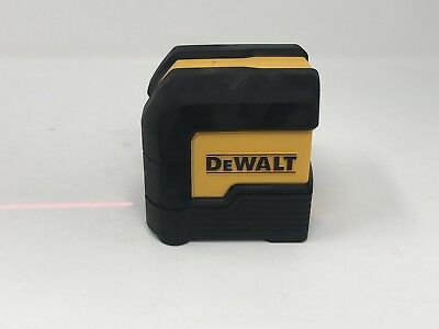 DEWALT DW08801 LASER SELF LEVELING CROSS LINE 50' RANGE (no hard case)