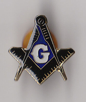 Masonic/Freemason - Hat/Lapel Pin - CLASSIC Square & Compass BACK IN STOCK!