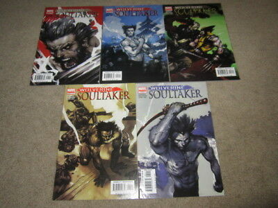 [set] Wolverine: Soultaker #1-5 Marvel X-Men