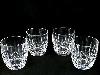 Set 4 Waterford Crystal 9 oz  OF Old Fashioned Bar Tumbler Kildare early mark