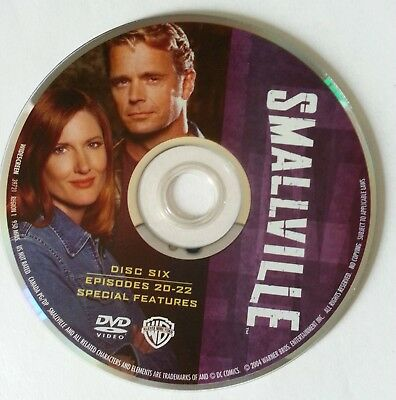Smallville Superman Third Season 3 Three -  Disc 6 DVD Only- Free Shipping