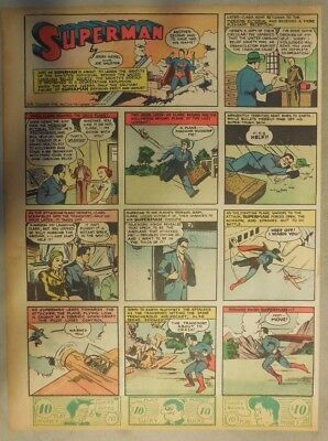 Superman Sunday Page #24 by Siegel & Shuster from 4/14/1940 Tab Page: Year #1!