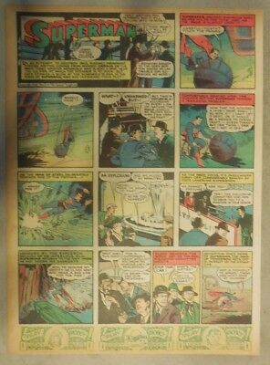 Superman Sunday Page #20 by Siegel & Shuster from 3/17/1940 Tab Page: Year #1!