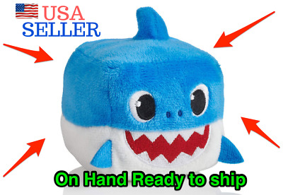 Pinkfong Baby Shark Official Song by WowWee - Blue Daddy Shark Cube English NEW