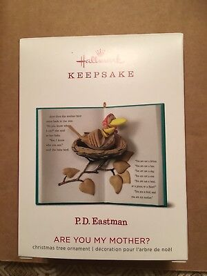 2018 HALLMARK P. D. Eastman Are You My Mother Keepsake Ornament NEW Hard To Find