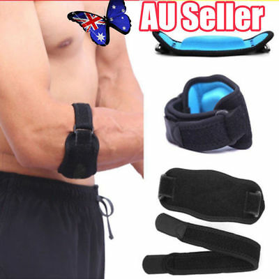 Adjustable Tennis Golf Elbow Support Brace Strap Band Forearm Protection  JW