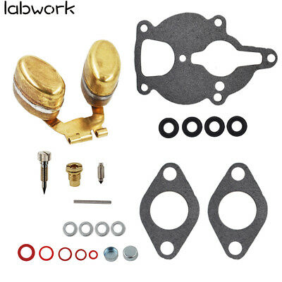 Carburetor Kit & Float for Zenith Wisconsin Engine VH4D VHD TJD replaces LQ39