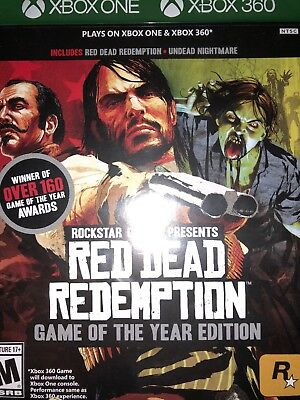 Red Dead Redemption - For Xbox One/360 - Brand New Games Factory Sealed