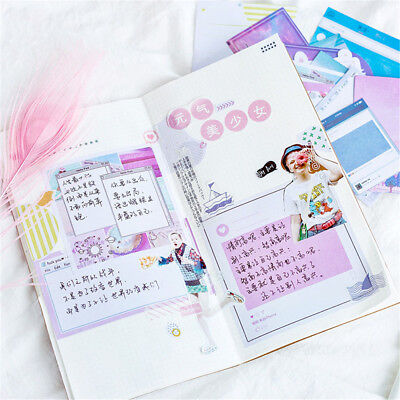 Stationary Photo Album Paper Sticker Diary Label Journal Stickers Phone Decor