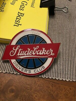 1950'S-1960'S Studebaker Drivers Club Enameled Badge