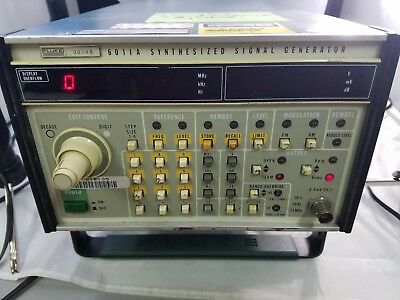 Fluke 6011A Signal Generator, Comes With Power Cord, No Leads