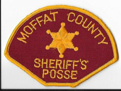 Moffat County Sheriff's Office, Colorado Posse Shoulder Patch