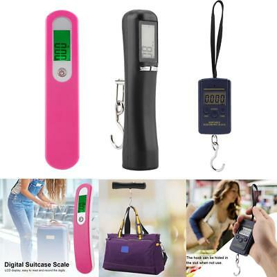 40Kg/50kg 10g Portable Electronic LCD Digital Hanging Luggage Weight Hook Scale