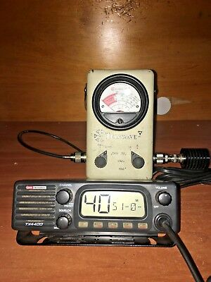 GME TX-4400 60 Channel UHF CB Radio with New Microphone, Mic Clip and Power Lead