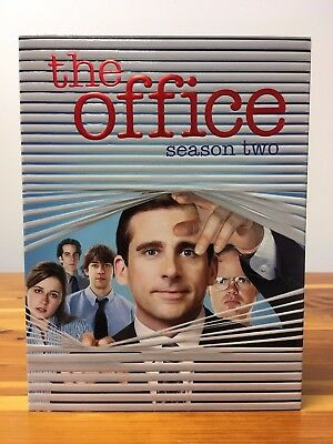 THE OFFICE Season 2 DVD Set (WATCHED ONCE)