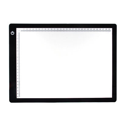 A4 Bright LED Tracing Board Dimmable Micro USB Drawing Stencil Light Pad Panel